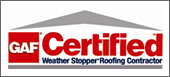 GAF Certifed Contractor Badge
