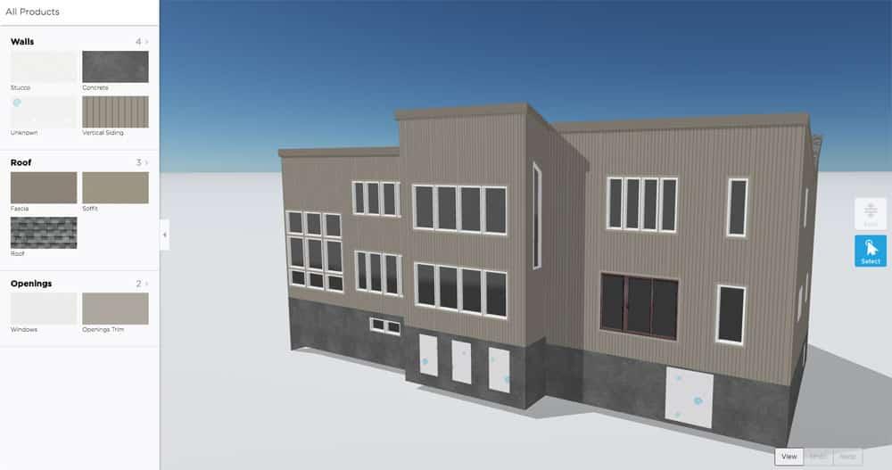 Remote siding design 3D model