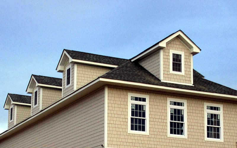 Hardie Siding Installation - West Hills Country Club - Middletown, NY
