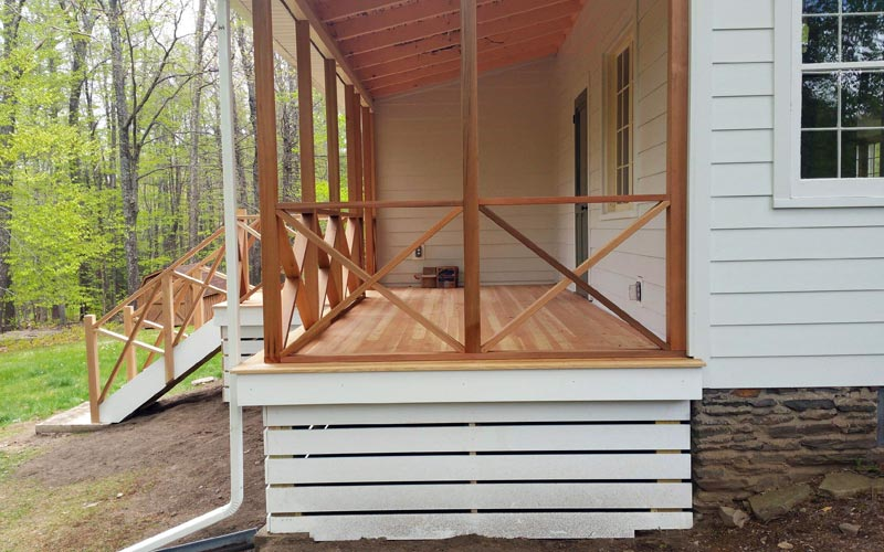 Douglas-Fir Deck