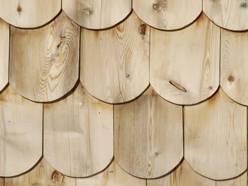 White Cedar Shingles - Round Edge