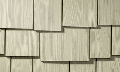 Hardie Shingles - Staggered Edge Panel