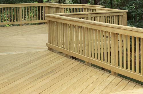 Pressure Treated (PT) Deck