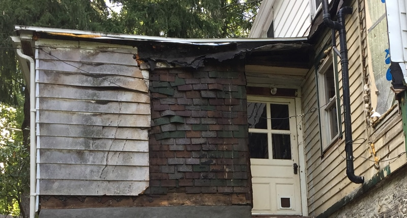 Siding over siding nightmare